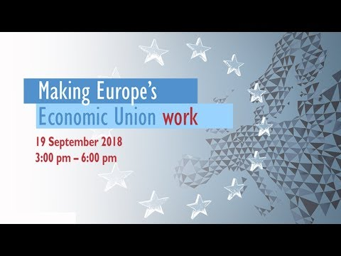 Making Europe's Economic Union work - Conference with keynote by Mario Draghi