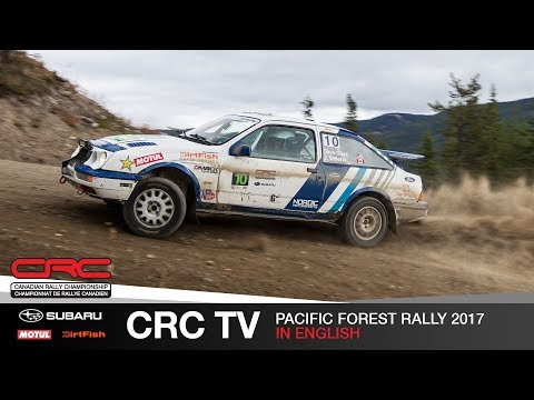 CRC TV: Pacific Forest Rally 2017 - English
