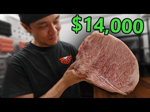 Can I Eat $14,000 of A5 Wagyu in 5 Minutes?? (ft. Guga Foods)