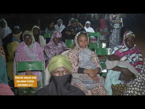 Prêche des Ançars de Kalaban en Novembre 2017 de chérifla TV