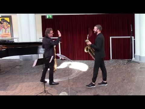 Henk Van Twillert & Menne Smallenbroek Playing Black From Marc Mellits