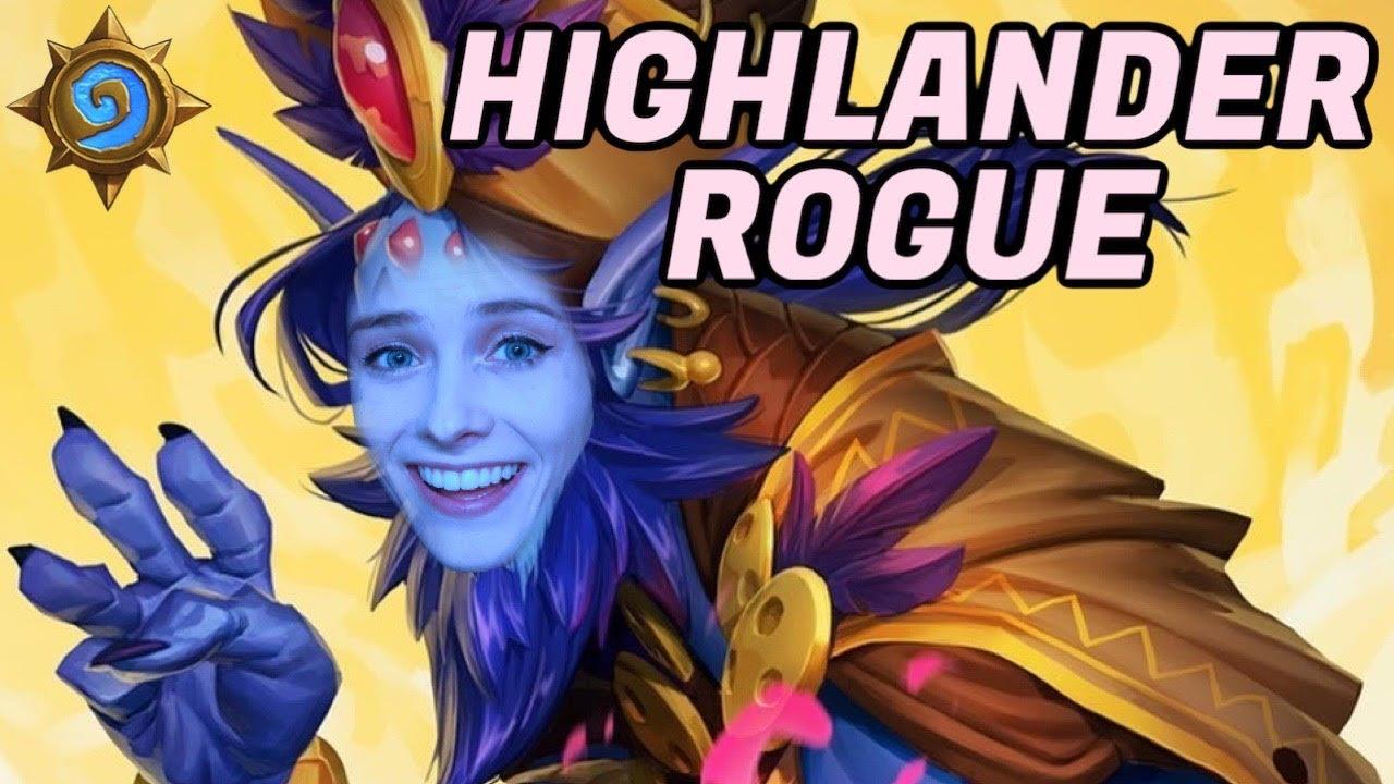 Highlander Rogue is Underrated! | Scholomance Academy | Hearthstone