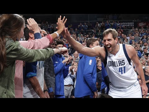 Jeff K - Dirk Nowitzki Passes Wilt Chamberlain on NBA All-Time Scoring List