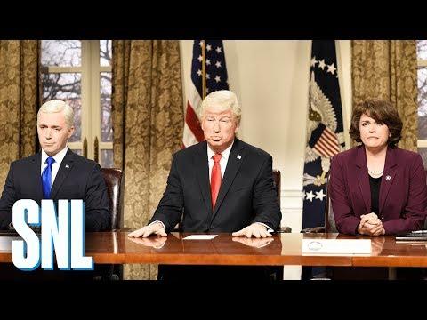 Presidential Address Cold Open - SNL