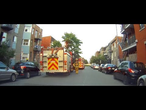 MONTREAL FIRE DEPARTMENT IN ACTION / SIM EN ACTION / 10 X