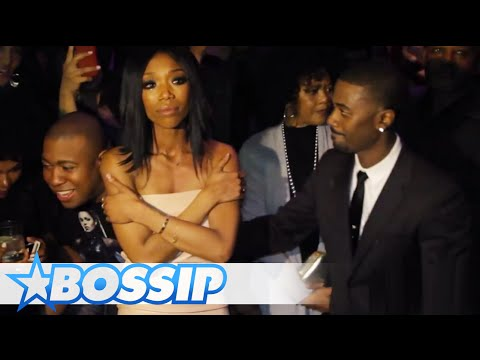 Brandy Cries While Kim Burrell Sings At Surprise B-Day Party | BOSSIP