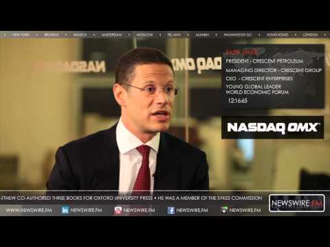 NASDAQ: Badr Jafar interviewed by Matthew Bishop, New York May 2013