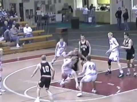 Hillcrest Lutheran Academy boys vs Oakes (ND) - January 1999