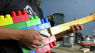 Музика зі звалища: у Мехіко грають на гітарах зі сміття
