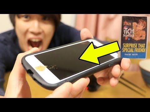 �ドッキリ】触��ら死����ゆ��るiPhone作り���www