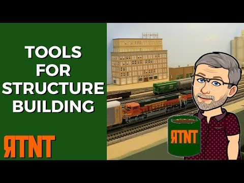 Best Tools for Scratch Building or Kit Building Structures