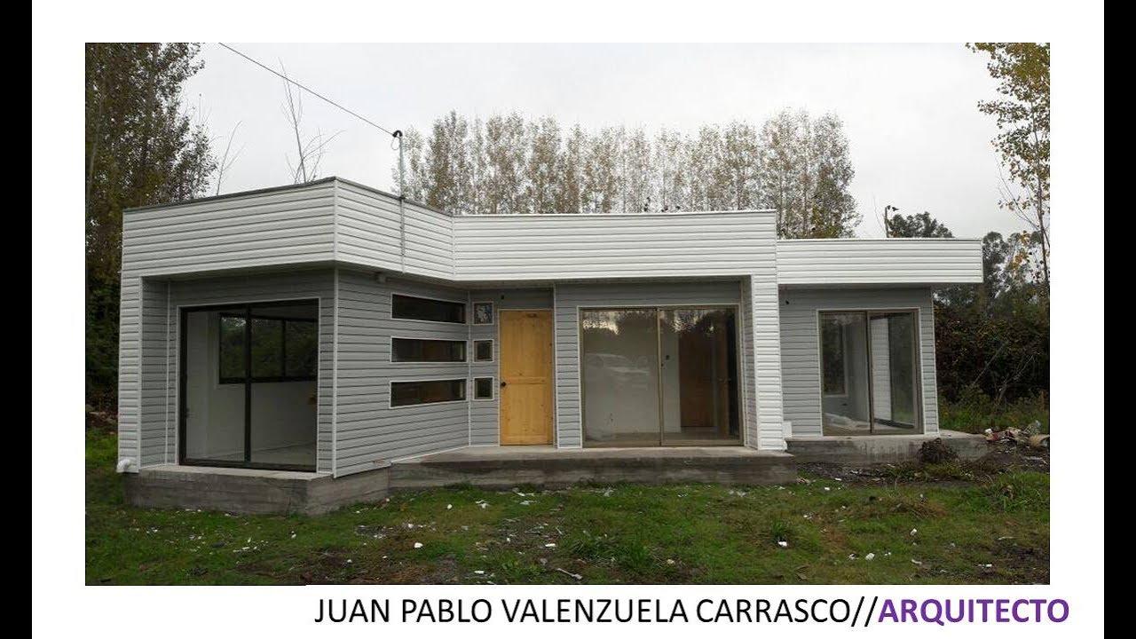 casa moderna prefabricada 54m2 youtube