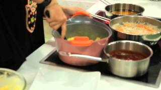 ريزو - دجاج بروستد - بطاطس فرسكس| زعفران وفانيلا حلقة كاملة