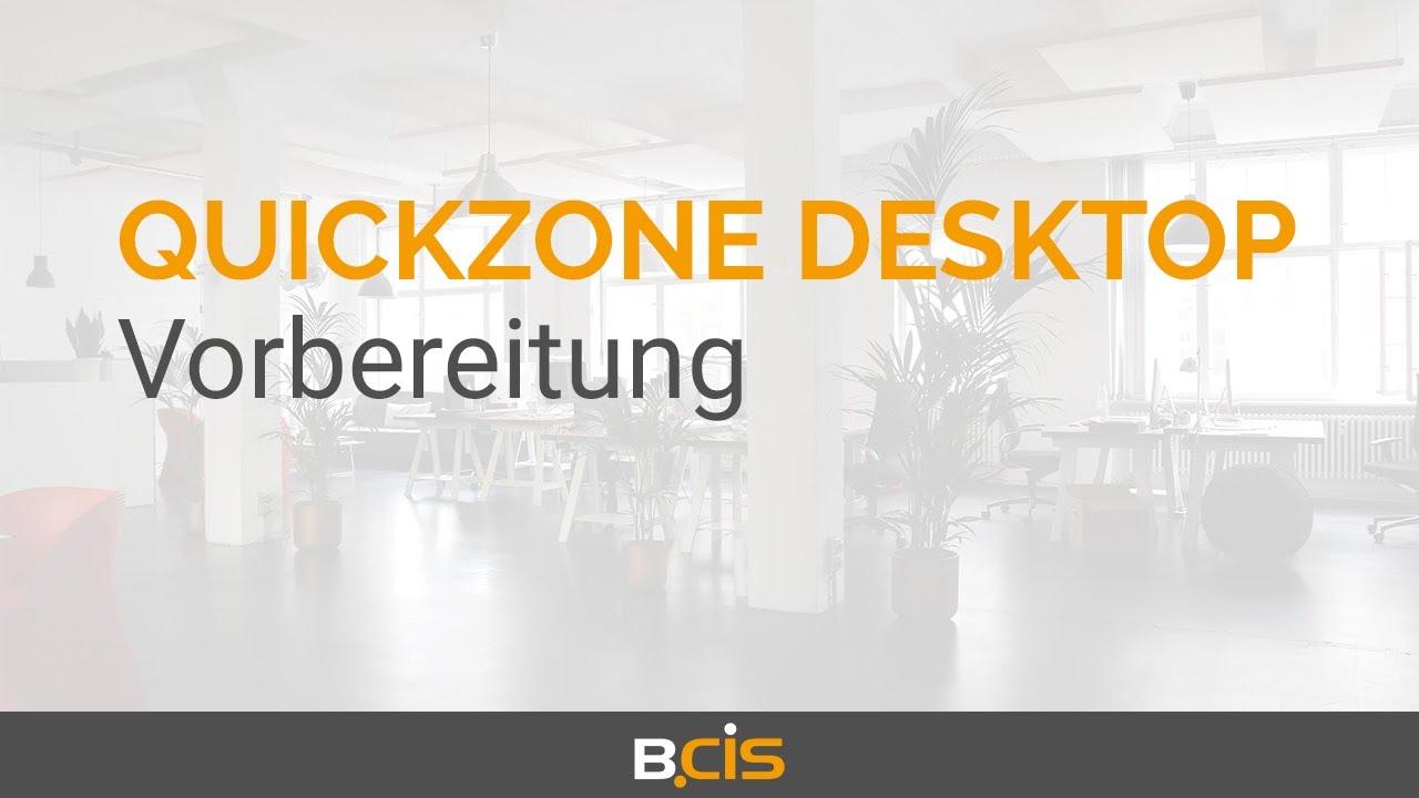 Download Quickzone Desktop for ELO - Vorbereitung (2/9)