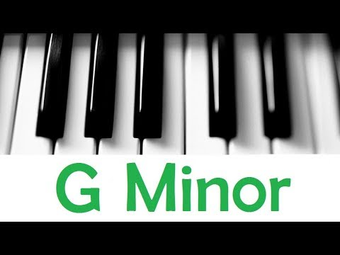 G Minor Scale Chords All Scales Chords Tutorial 26 Youtube