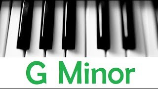 g minor scale & chords