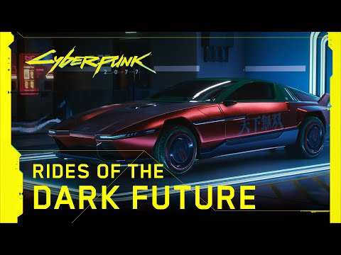 Cyberpunk 2077 — Rides of the Dark Future