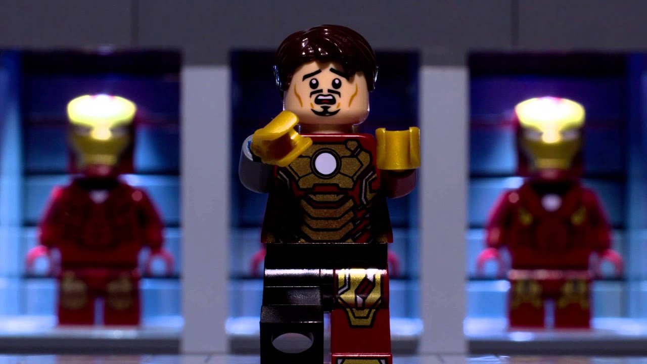 Lego iron mans new suit youtube