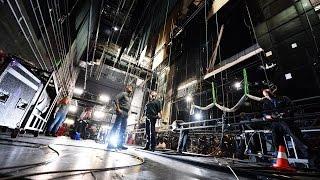 DAS PHANTOM DER OPER Der Bühnenaufbau