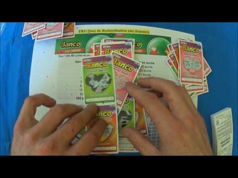 Gratter un carnet de 150 tickets de jeu BANCO à 150€.