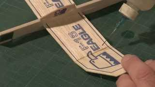 How To Modify A Stock Balsa Glider With Tom Sanders