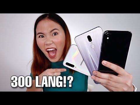 MOBILE PHONES UNDER 300 PESOS!