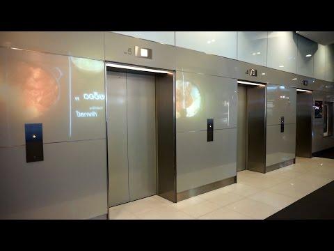 Amazing 2011 Mitsubishi traction elevators @ Terminal 21 Asoke mall, Bangkok, Thailand