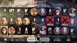 Игровой автомат Planet of the Apes (NetEnt)
