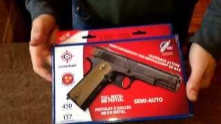 Пневматичний пістолет Crosman 1911 bb