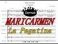 Maricarmen La Pegatina Charanga - Partitura Arreglos musicales Serna