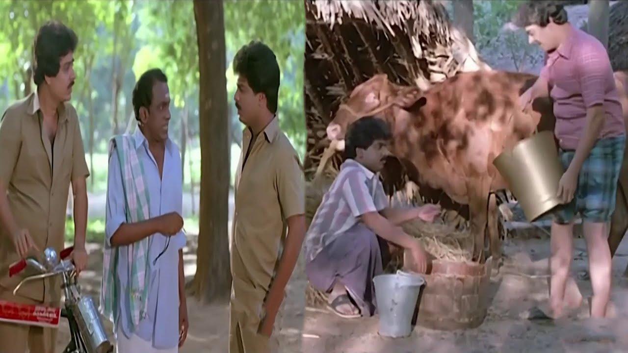 Engineering படிச்சதுக்கு பதில் மாடு மேய்க்கலாம் | #Pandiarajan #SVSekhar Comedy Video HD | Rjs