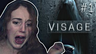 THE SCARIEST GAME SINCE PT! Wimpy Girl Plays Visage Part 1