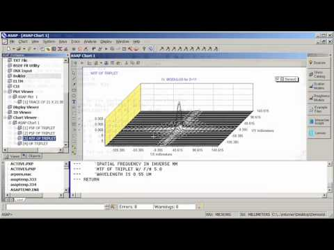 Introduction to Imaging System Design in ASAP