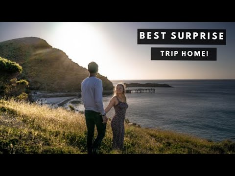Surprising Family after 12 MONTHS of FULL TIME TRAVEL | Flying home for Christmas