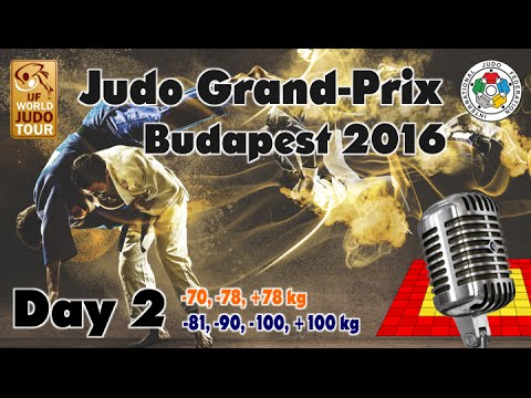Judo Grand-Prix Budapest 2016: Day 2