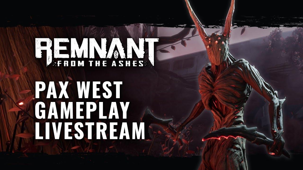 Посмотрите 30 минут геймплея Remnant: From the Ashes с демонами и летающими боссами