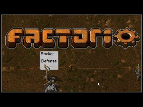Factorio :: Rocket Defense - Episode 27