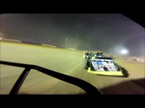 Tyler County Speedway Let it Ride 55 Modified Feature 5-29-2016 Jesse Wisecarver GoPro