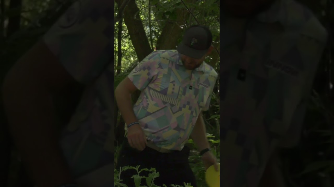 Big Jerm Throw In At Mixed Dubs (Disc Golf World Championships)