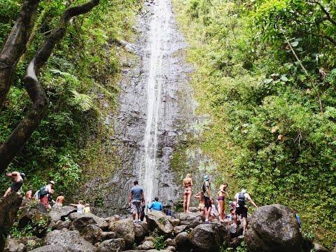 howzitboy hikes: Manoa falls (shot with Nikon coolpix L610)