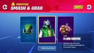 "NEW ""SMASH & GRAB"" Challenges Rewards! // Use Code: byArteer (Fortnite Battle Royale LIVE)"
