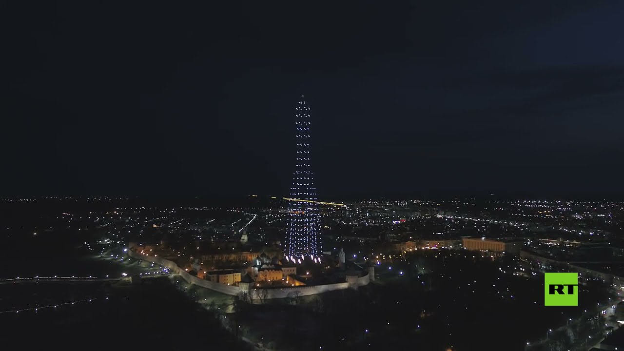 مئات الدرونات تضيء سماء مدينة روسية بمناسبة يوم الفضاء  - نشر قبل 22 ساعة