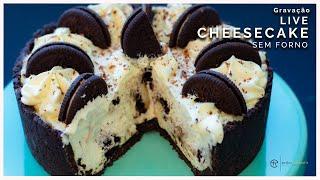 Cheesecake sem forno   Gravação Live com a Chef Erika Hayashi