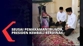 Gambar cover Seusai Pemakaman Ibundanya, Presiden Jokowi Langsung kembali Bertugas