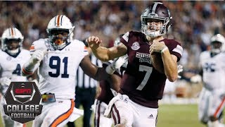 Mississippi State takes down No. 8 Auburn   CFB Highlights