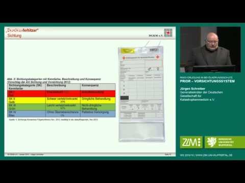 Ringvorlesung im Bevölkerungsschutz: Jürgen Schreiber - PRIOR - Vorsichtungssystem