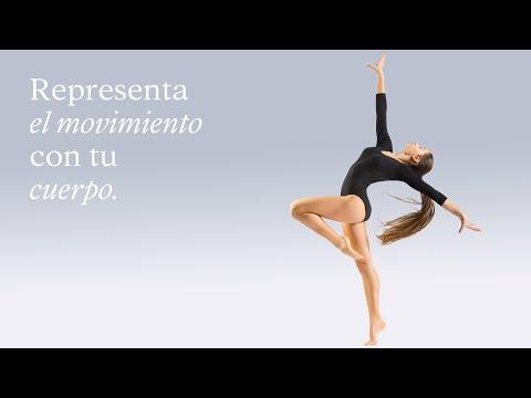 Representar el movimiento a través del cuerpo