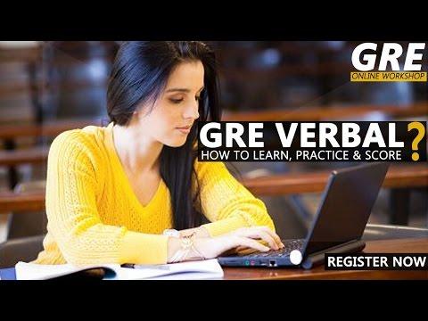 GREedge -  GRE Verbal Workshop  Learn, Practice & Score