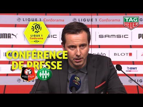Conférence De Presse Stade Rennais FC - AS Saint-Etienne (2-1) / 2019-20