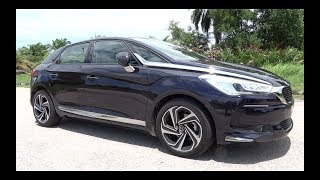 2017 DS 5 THP Start-Up and Full Vehicle Tour